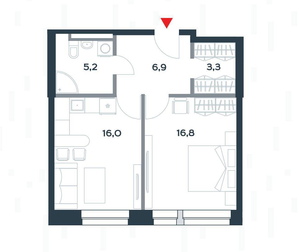 Планировки 1 очередь (строение 3)
