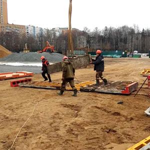 Главгосстройнадзор проверил ход реконструкции центрального стадиона в Одинцово