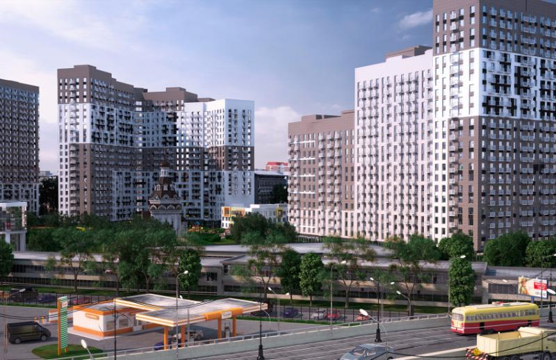 Многофункциональный жилой и общественный комплекс «Петр I»