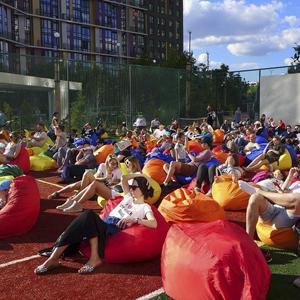 Фестиваль болельщиков Концерна «КРОСТ» пришел на Северо-Запад Москвы и в ТиНАО