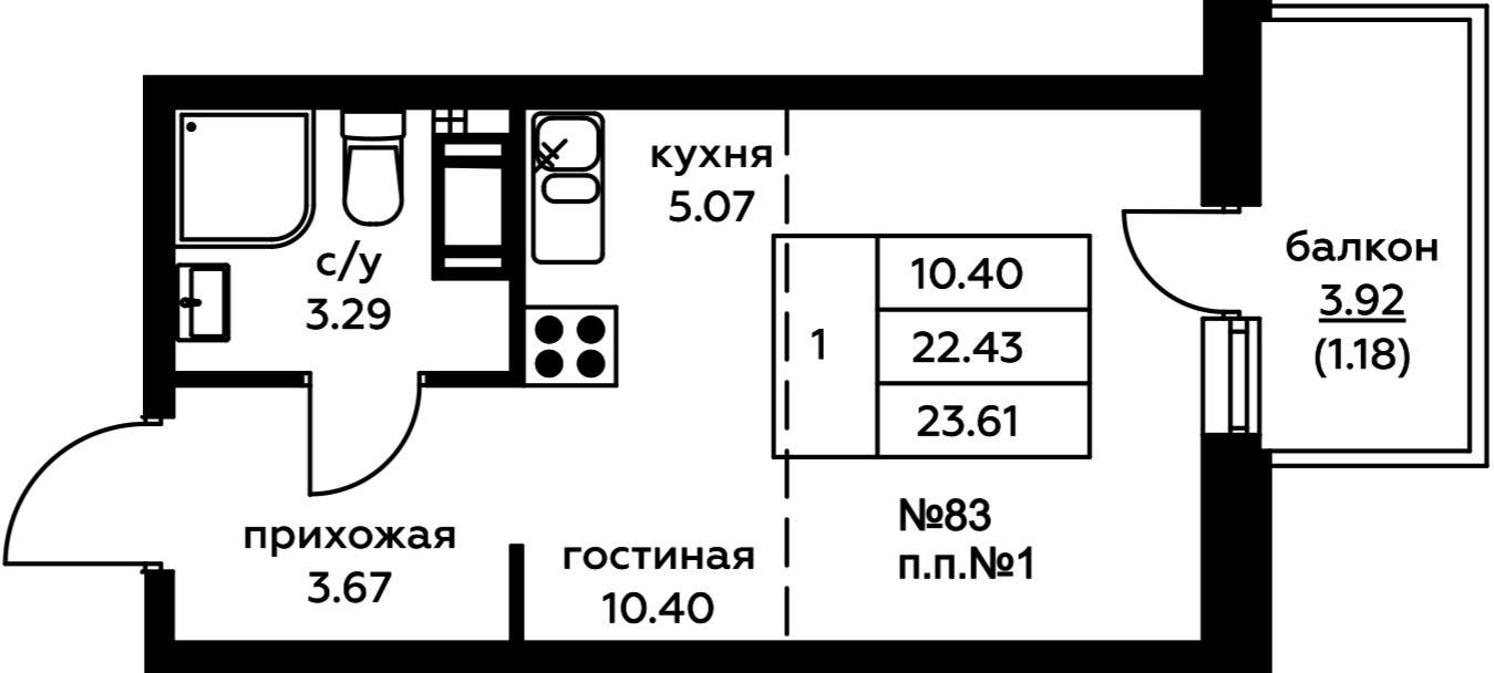 Планировки корпус 4