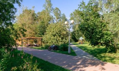 Фото коттеджного посёлока Серебряный бор